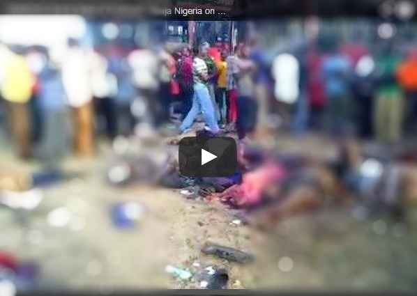 Videos Of Nyanya Bomb Blast, Abuja